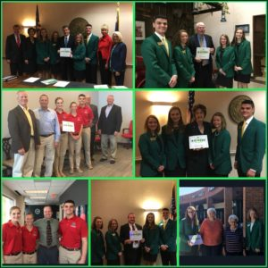 Cover photo for State 4-H Council Celebrates National 4-H Week