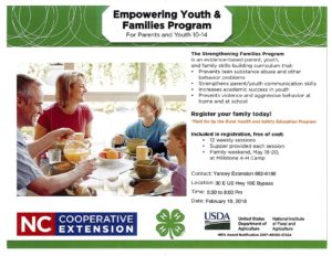 Cover photo for Empowering Youth & Families Program (For Parents and Youth 10-14)