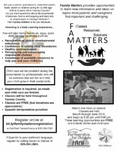 Cover photo for Family Matters Workshops