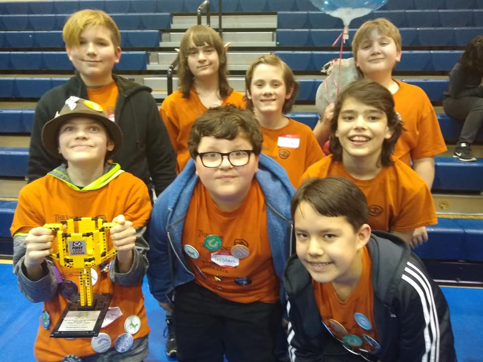 Yancey County 4-H Robotics team