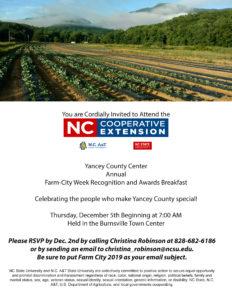 Farm City Invitation Flyer