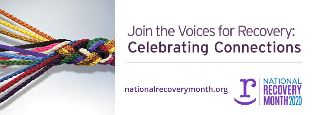 National Recovery Month Banner