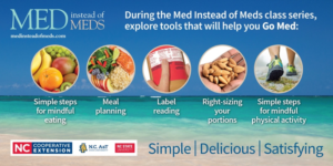 Cover photo for Med Instead of Meds ~ Virtual Cooking Program