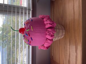 ice cream pumpkin
